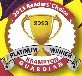 Brampton Guardian Platinum winner