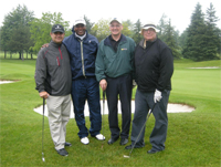 PDC at charity golf game